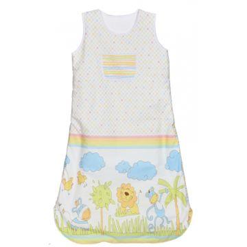 Спальный мешок для новорожденного Feter 100 см (белый с принтом)