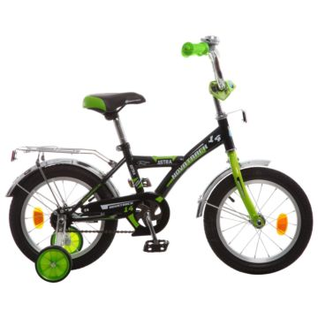 """Детский велосипед Novatrack Astra 14"""" (2016) черный"""
