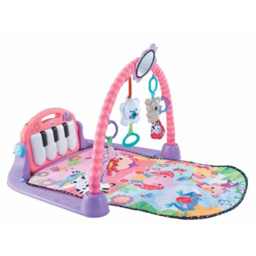 Развивающий коврик Fitch Baby Piano Gym (розовый)