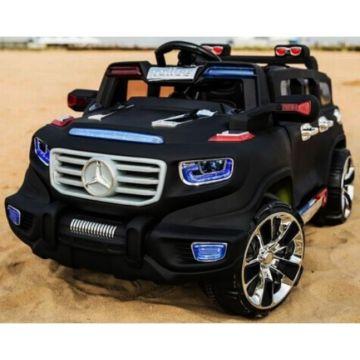Электромобиль Kids Cars Mercedes с пультом управления (черный)
