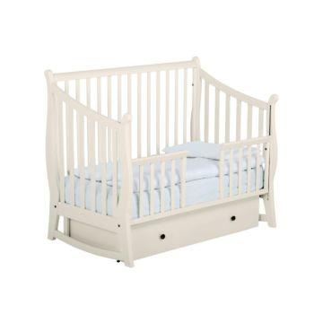 Кроватка детская Papaloni Maggy (поперечный маятник) (Гоголь-моголь)