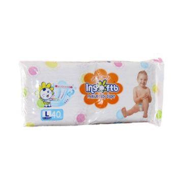 Подгузники Insoftb Premium Ultra-soft L (9-14) 40 шт.