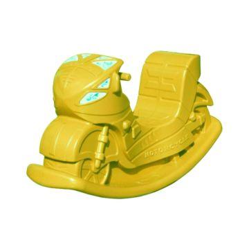 Качалка Lerado Большой мотоцикл LAA-628 (Желтый)