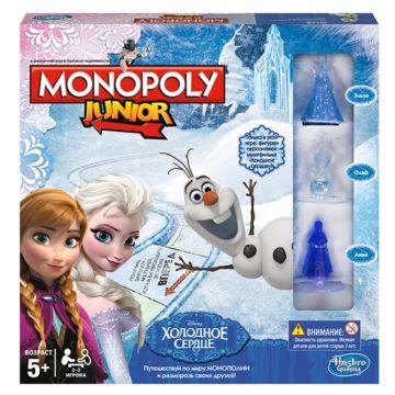 Монополия Hasbro Games JUNIOR Холодное сердце