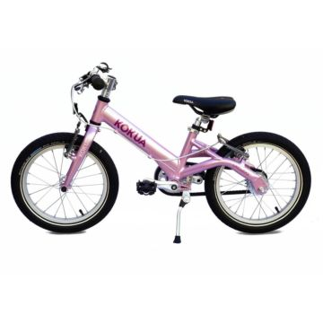 "Детский велосипед Kokua LiketoBike V-Brakes 16"" (pink)"