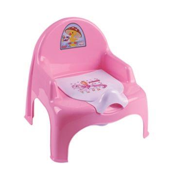 Горшок-кресло Dunya Plastik 11101 (розовый)
