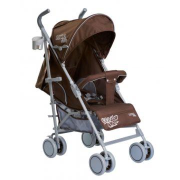 Коляска-трость Liko Baby Liko Baby BT-109 City Style eco (коричневый)