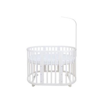 Кроватка-трансформер Ellipse Bed 6 в 1 (белый)