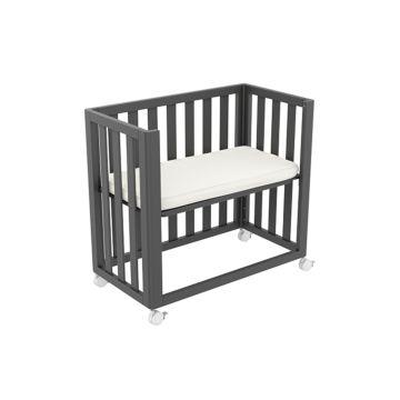 Приставная кровать Ellipse Co-Sleep (серый)