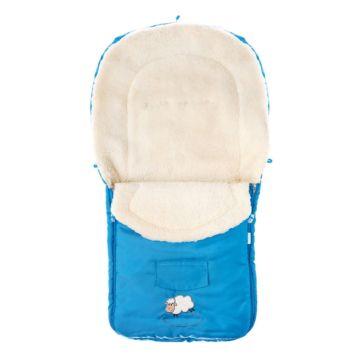 Конверт для коляски зимний Caretero Welna (голубой)