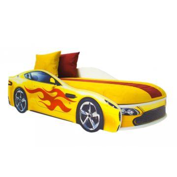 Кровать-машина Бельмарко Бондмобиль (желтый)