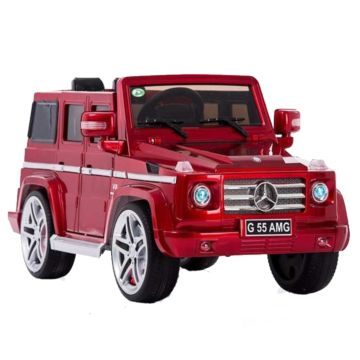 Электромобиль Coolcars Mercedes-Benz G55 AMG (вишня)