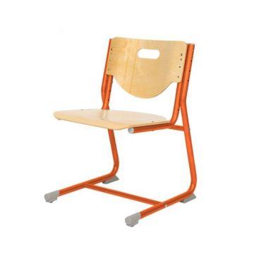 Растущий стул Астек SF-3 (береза/оранжевый)