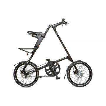 Велосипед складной Strida SX (2017) черный матовый