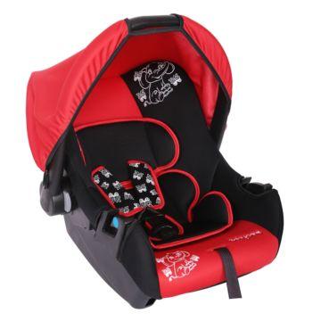 Автолюлька Baby Care BC-322 Слоник Люкс (красный)