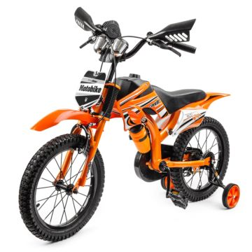 "Велосипед-мотоцикл Small Rider Moto Bike 16"" (оранжевый)"