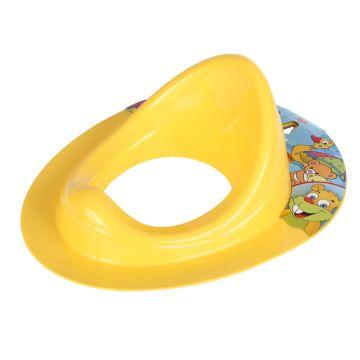 Накладка на унитаз Dunya Plastik (адаптер) 11108 (желтый)
