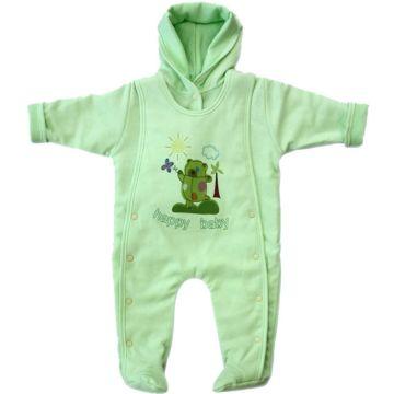 Комбинезон трикотажный Little People (зеленый)