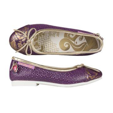 Туфли детские Ever After High 5108A для девочек (фиолетовые)