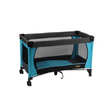 Манеж-кровать Selby 211 (синий)