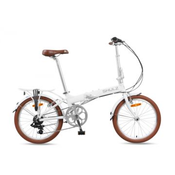 Велосипед складной Shulz Easy (2016) белый