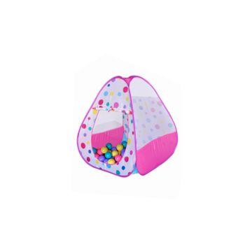 Детская палатка Ching-Ching с шарами Конфетти Конус 100 (розовый)