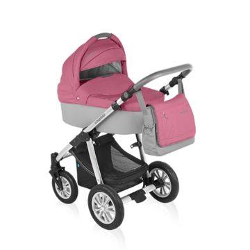 Коляска 2 в 1 Baby Design Dotty Original (розовый)