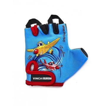 Велоперчатки Vinca Sport для ребенка 2-3 лет (вертолетики 2)