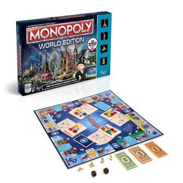 Монополия Hasbro Games Всемирная