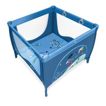 Манеж Baby Design Play Up (синий)