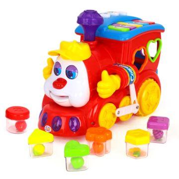 Развивающая игрушка Huile Паровозик