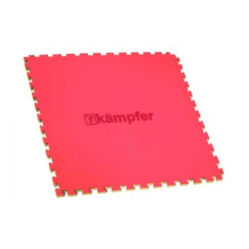 Гимнастический мат Kampfer Татами Латочкин Хвост 100х100см (красный)