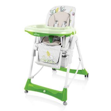 Стульчик для кормления Baby Design Bamby (зеленый)