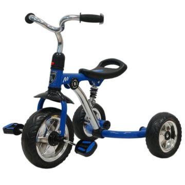 Трехколесный велосипед Moby Kids Antishock (Синий)