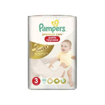 Подгузники-трусики Pampers Premium Care Midi (6-11 кг) 56 шт