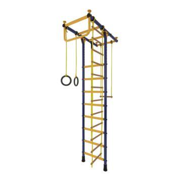 Детский спортивный комплекс Лидер Т-01 М (сине-желтый)