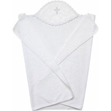 Крестильное полотенце Золотой Гусь 110*75 белое