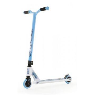 Трюковый самокат Slamm Urban IV Scooter (белый/голубой)
