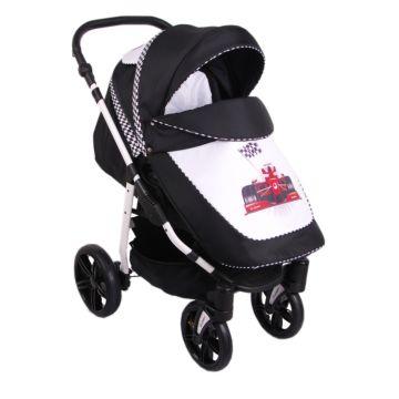 Коляска прогулочная Lonex Sport New (черная)