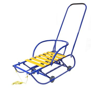 Санимобиль на колесах Hubster (синий)