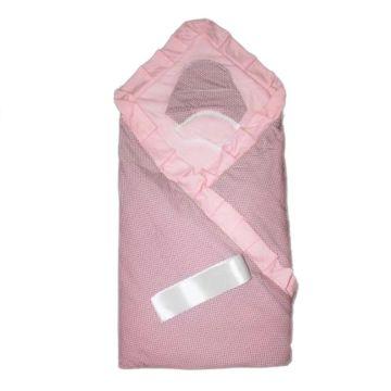Комплект на выписку демисезонный Alis Ольга (8 предметов) (розовый)