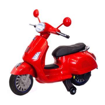 Электромотоцикл ToyLand Vespa XMX318 (красный)