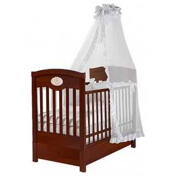 Кроватка детская Feretti FMS Enchant (продольный маятник) (орех)