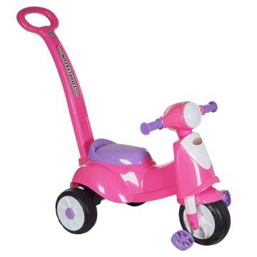 Каталка Ningbo Prince Toys Вел (розовый)