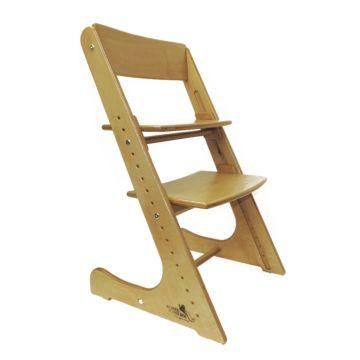 Растущий стул Конёк Горбунёк с лакокрасочным покрытием (сандал)