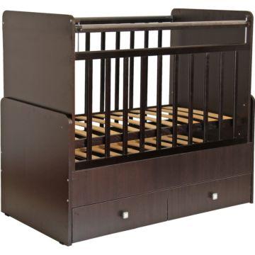 Кроватка детская Фея 720 (поперечный маятник) (Венге)