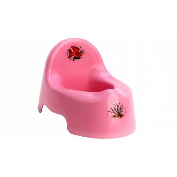Горшок IDEA (М-Пластика) М2595 (Розовый)
