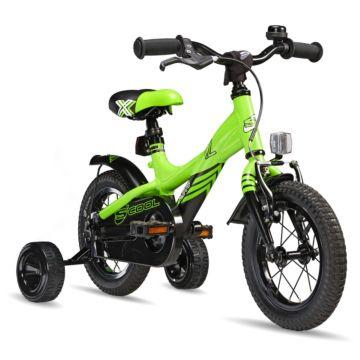 "Велосипед S'cool XXlite 12"" (2016) зеленый"