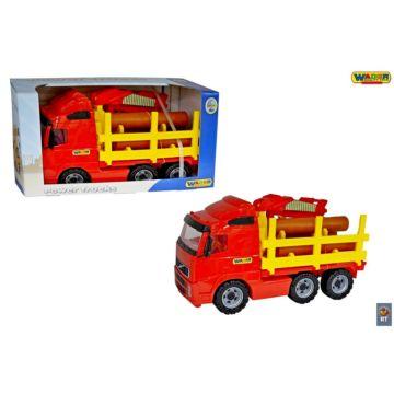 Автомобиль Wader Лесовоз (Красный)