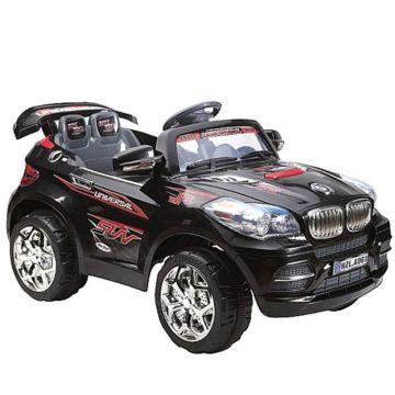 Электромобиль Kids Cars джип A061 с пультом управления (черный)